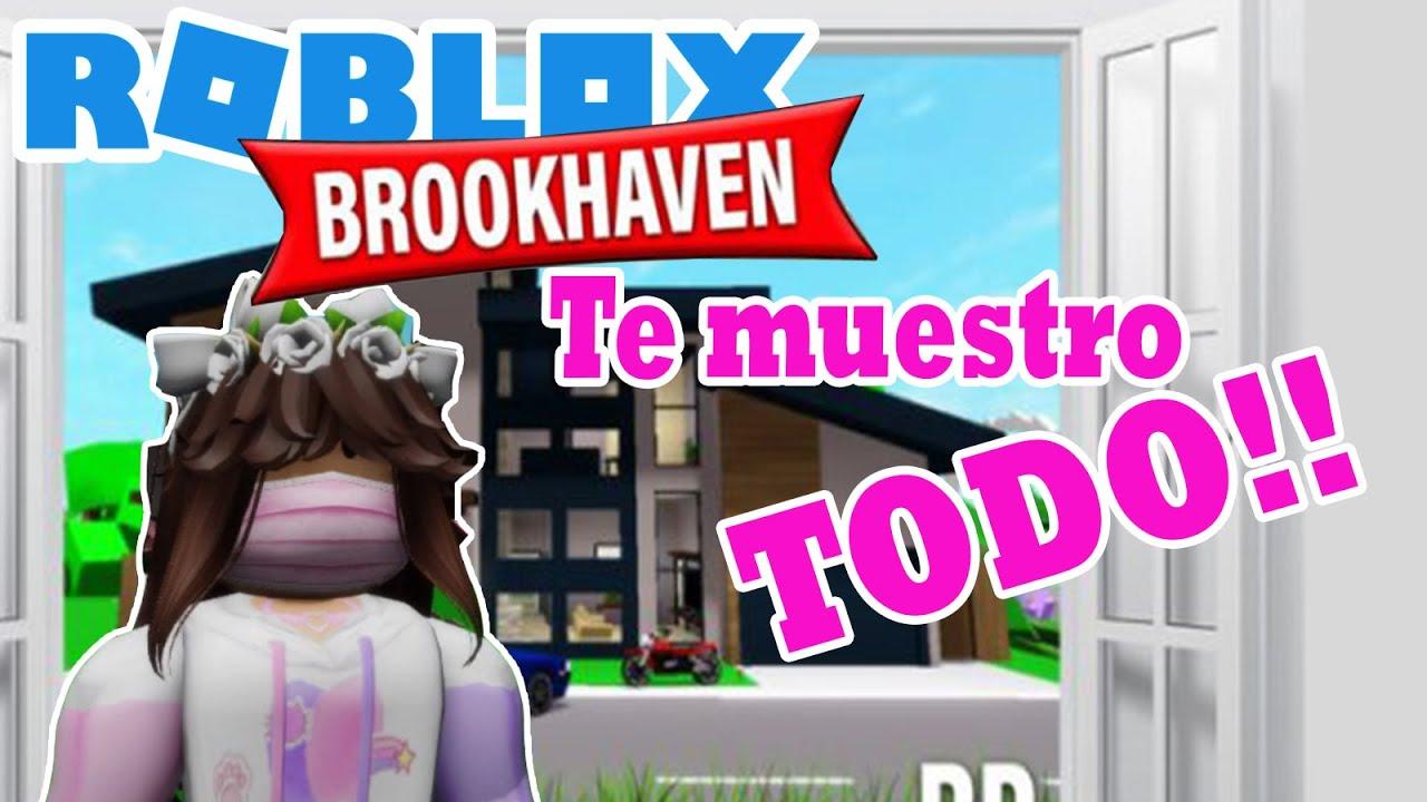 🙄Roblox Brookhaven 🏡 Te muestro TODO!!!😱