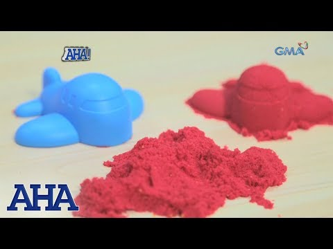 AHA!: Do-It-Yourself kinetic sand