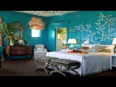 what colour goes with teal walls