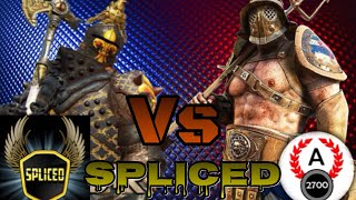 For Honor - Facing Spliced! SplicedYT Vs Angelus2700! Youtube Vs Youtube Xbox Vs Pc!