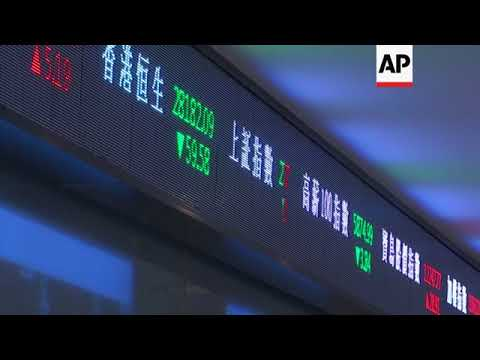 Asia markets open; traders nervous over looming trade war