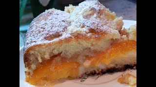 Скорый пирог с абрикосами. Так быстро Вы еще не готовили!