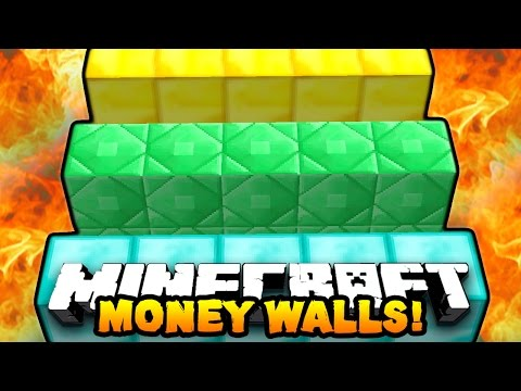 "Minecraft MONEY WALLS #1 ""BEST MINI-GAME EVER!"" w/ PrestonPlayz"