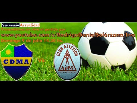 """Alem vs Atlas - Segunda final del torneo reducido por el segundo ascenso a la Primera """"C"""""""