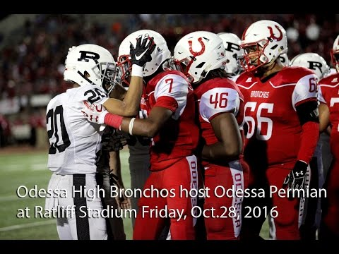 Permian Panthers vs Odessa High Bronchos 2016