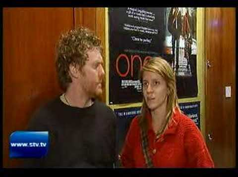 Once - Glen Hansard and Marketa Irglova interview in Glasgow