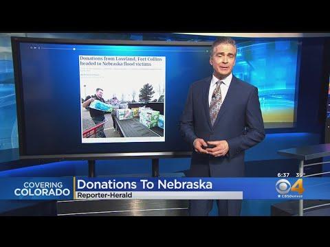 BEARDO - Northern Colorado Steps Up To Help Nebraska Flood Victims