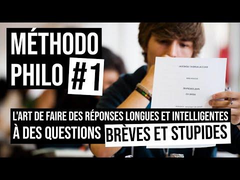 Dissert' #1 (Bac Philo) L'art des réponses longues et intelligentes aux questions brèves et stupides