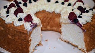 ✧ АНГЕЛЬСКИЙ БИСКВИТ ✧ ПИЩА АНГЕЛОВ ✧ Бисквит на Белках ✧ Angel Food Cake ✧ Марьяна