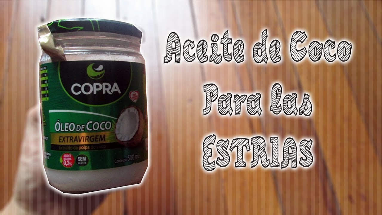 aceite de coco para estrias en embarazo