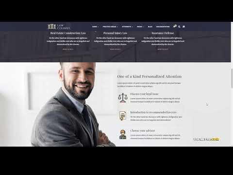 Mira - Lawyers And Law Firm WordPress Theme