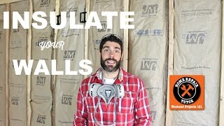 How to Insulate Walls and Ceilings -- by Home Repair Tutor