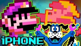 FAKE NINTENDO iPHONE GAMES! (Mario, Zelda, Duck Hunt)