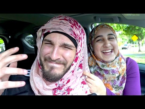BEING AN ARAB GIRL FOR A DAY!!
