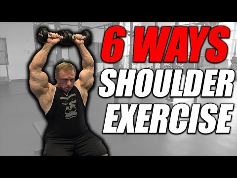 Exercise Index 6 Ways for Shoulders