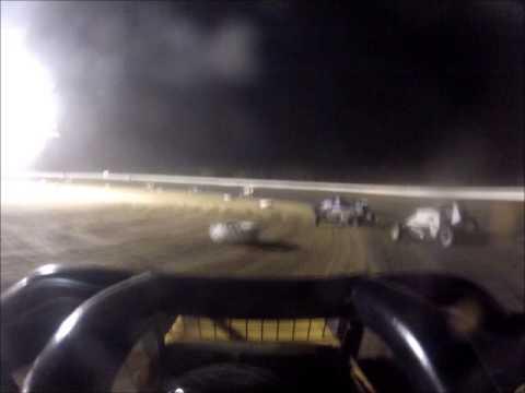 Matt Humphrey- MSCS Feature at Clay County Speedway 7-5-14