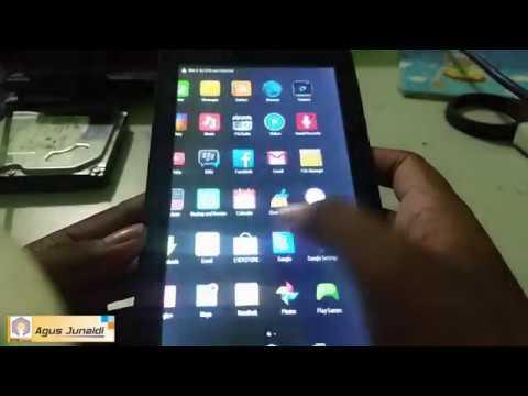 Lupa Password Hard Reset Tablet Evercoss At7e Youtube