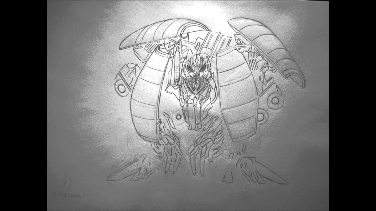 Transformers Mixmaster Drawing