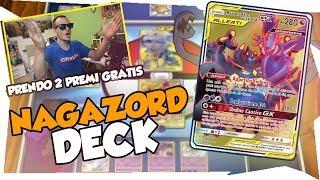 TI RUBO 2 PREMI | DECK NAGANADEL GUZZLORD GX | MAZZO POKEMON ECLISSI COSMICA| Pokemon TCGO ITA