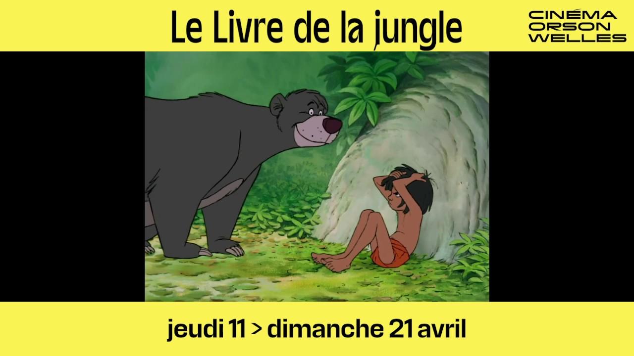 Le Livre De La Jungle Wolfgang Reitherman Studio Disney Amiens Bande Annonce