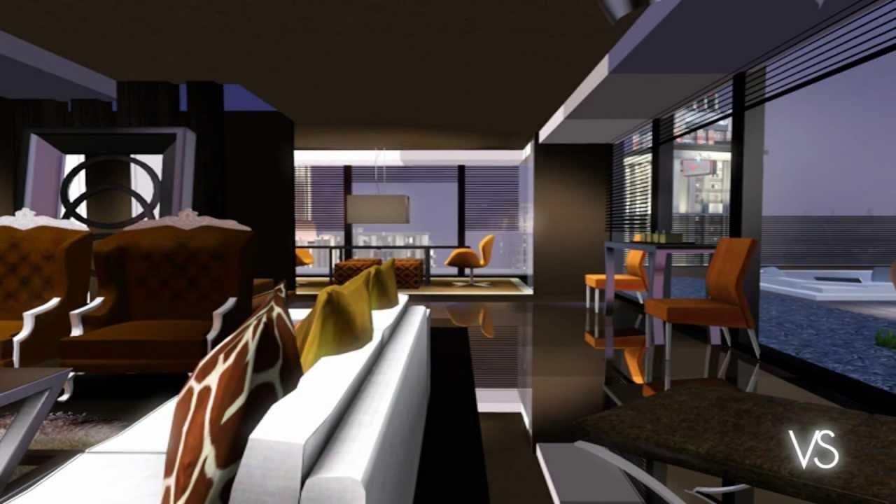 The Sims 3 Luxury Modern Condos Youtube