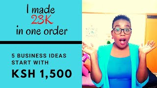5 Business ideas || Work From Home / Online || Less than 1.5K Capital