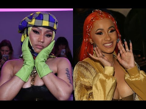 Nicki Minaj Exposes Cardi B for lying about the KNOT on her head. Offers $100k for REAL video. Mp3