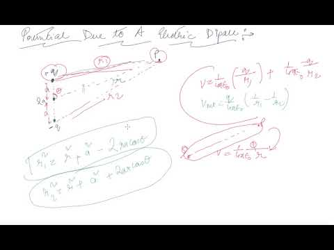 Potential Due to an Electric Dipole | Class 12 Physics Electrostatic Potential and Capacitance