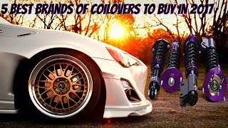 5 Best Brands of Coilovers to Buy for Your Car in 2017