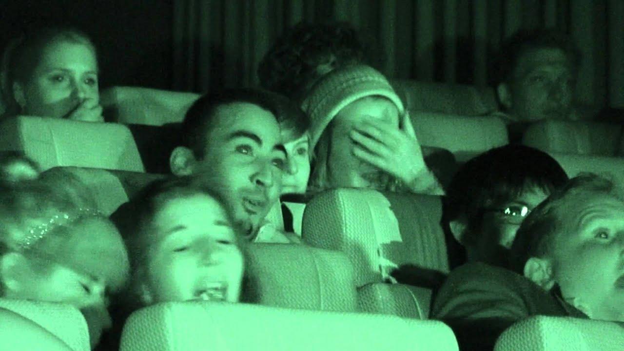 Paranormal Activity 4 Le Reazioni Del Pubblico Sottotitoli In Italiano Youtube