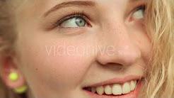 face closeup close up