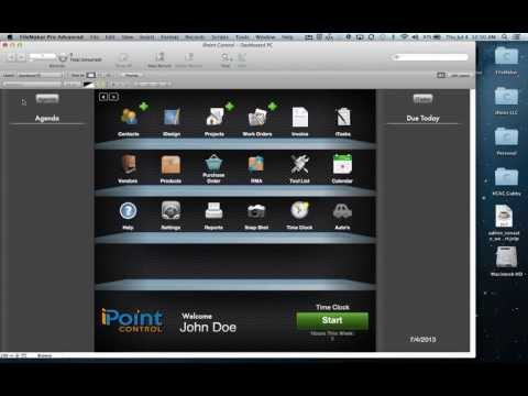 iPoint Control Add New User