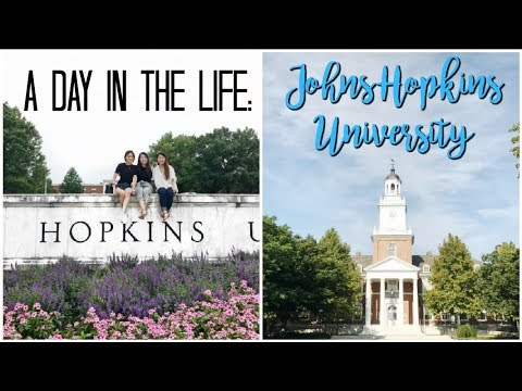 A DAY IN MY LIFE: Johns Hopkins University 💙
