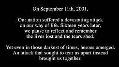 WWE pays tribute to those lost on Sept. 11, 2001: Raw, Sept. 11, 2017