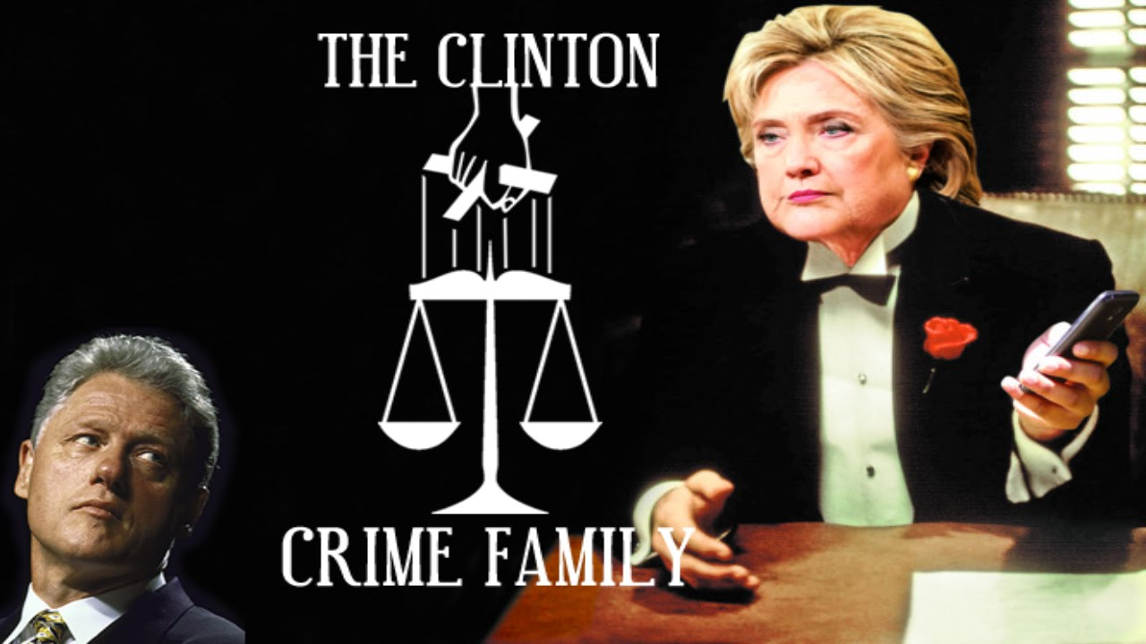 Image result for clinton crime family