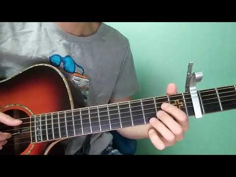 "Dean Lewis - ""Be Alright""guitar tutorial"