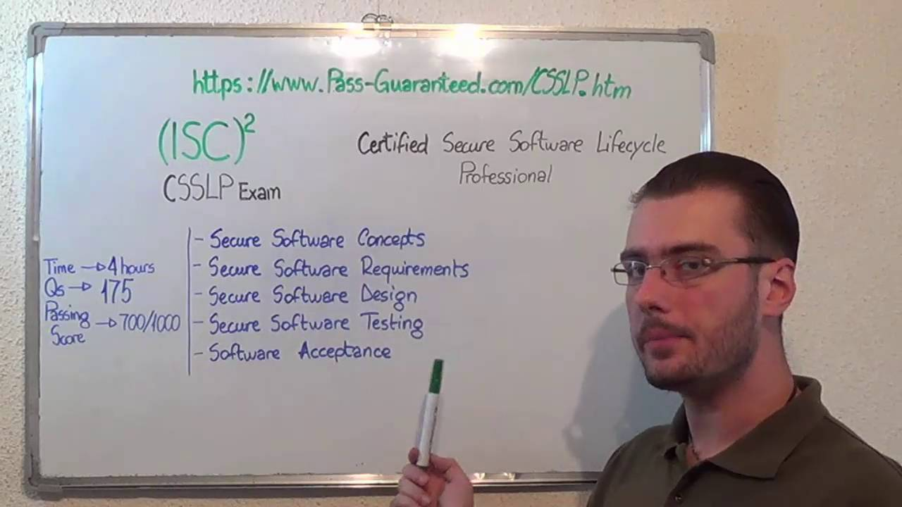 Csslp Certified Exam Secure Software Lifecycle Test Professional
