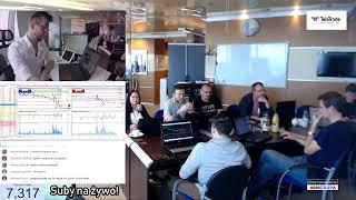 LIVE TRADING FOREX z Fibonacci Team - Warszawa