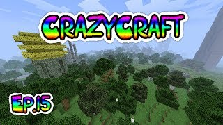Minecraft CrazyCraft episode 15 Farming!