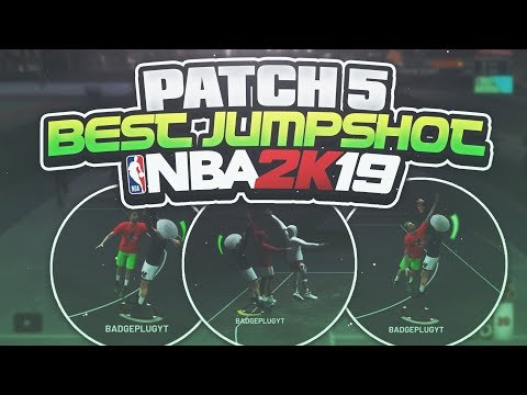 THE New BEST JumpShot In NBA 2K19 AFTER PATCH 5! Never Miss Again!!