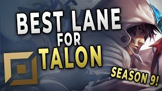 This is Why Talon Top is Talon's New Best Lane in Season 9