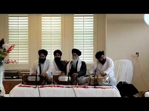 Bhai Inderjeet Singh Khalsa - Kirtan @ Bh. Satbir Singh's home in Fresno