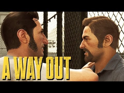 A Way Out Gameplay German PC ULTRA Settings #02 - KEINE Freunde