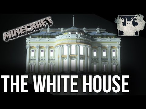 The White House in Minecraft