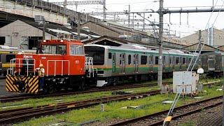 2020/07/14 【入換】 E231系 U525編成 大宮総合車両センター   JR East: Shunting of E231 Series U525 Set at Omiya