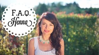 FAQ and facts you should know on HENNA and herbal hair colors|Vademecum Henné ed erbe tintorie Thumbnail