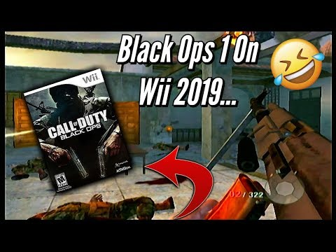 CoD Black Ops 1 On The *Nintendo Wii* In 2019...