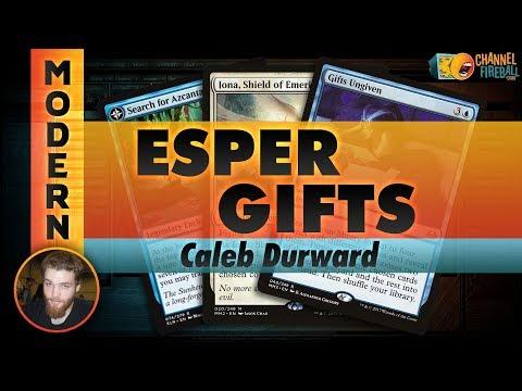 Channel CalebD - Modern Esper Gifts (Deck Tech & Matches)