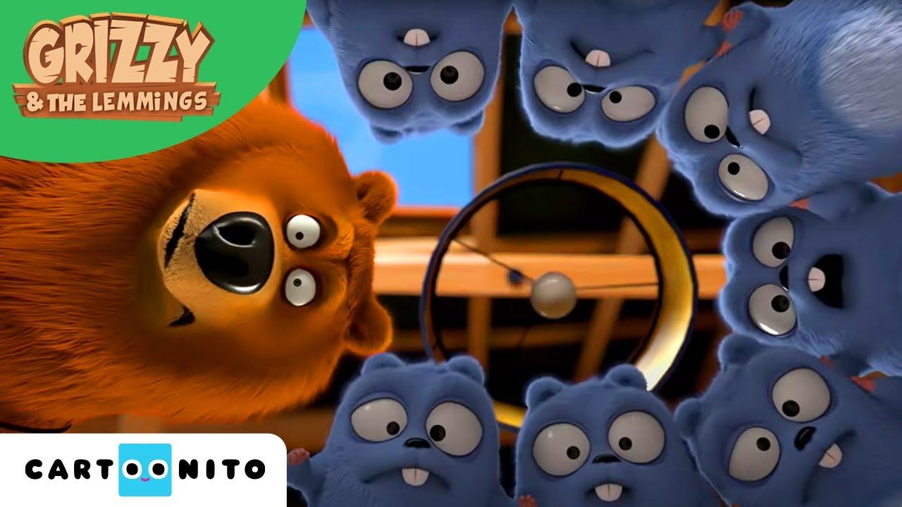 Grizzy și lemingii | Un joc de magie | Boomerang