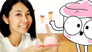 Rie Makes A Dessert Friend For The Good Advice Cupcake • Tasty